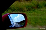 Always looking in the rearview at what I missed? hell no!